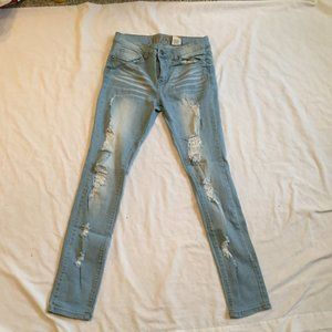 VIP Destroyed Jeans Size 9/10